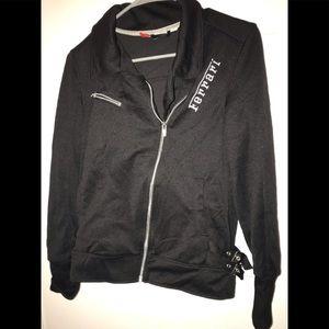 Woman's Puma Moto style jacket Ferrari addition